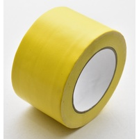 Cloth Tape Yellow 72mm x 25m  Price Includes Gst