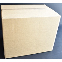 Second Hand Cardboard Carton 680mm x 470mm x 550mm Gst Included