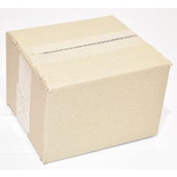 New Cardboard Carton 183mm x 158mm x 120mm  Pack/25 Gst Included