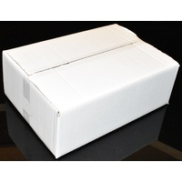 Small White Postage Carton 275mm x 190mm x 90mm Pack/25 Price Includes Gst