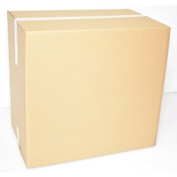 New Cardboard Carton 550mm x 400mm x 495mm Pack/25 Gst Included