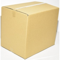 New Cardboard Carton 305mm x 215mm x 260mm Pack/100