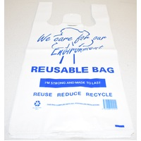 Reusable Singlet Bags Medium Pack/100 Gst Included