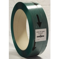 PET Strapping Embossed 16mm x 0.9mm x 1100m